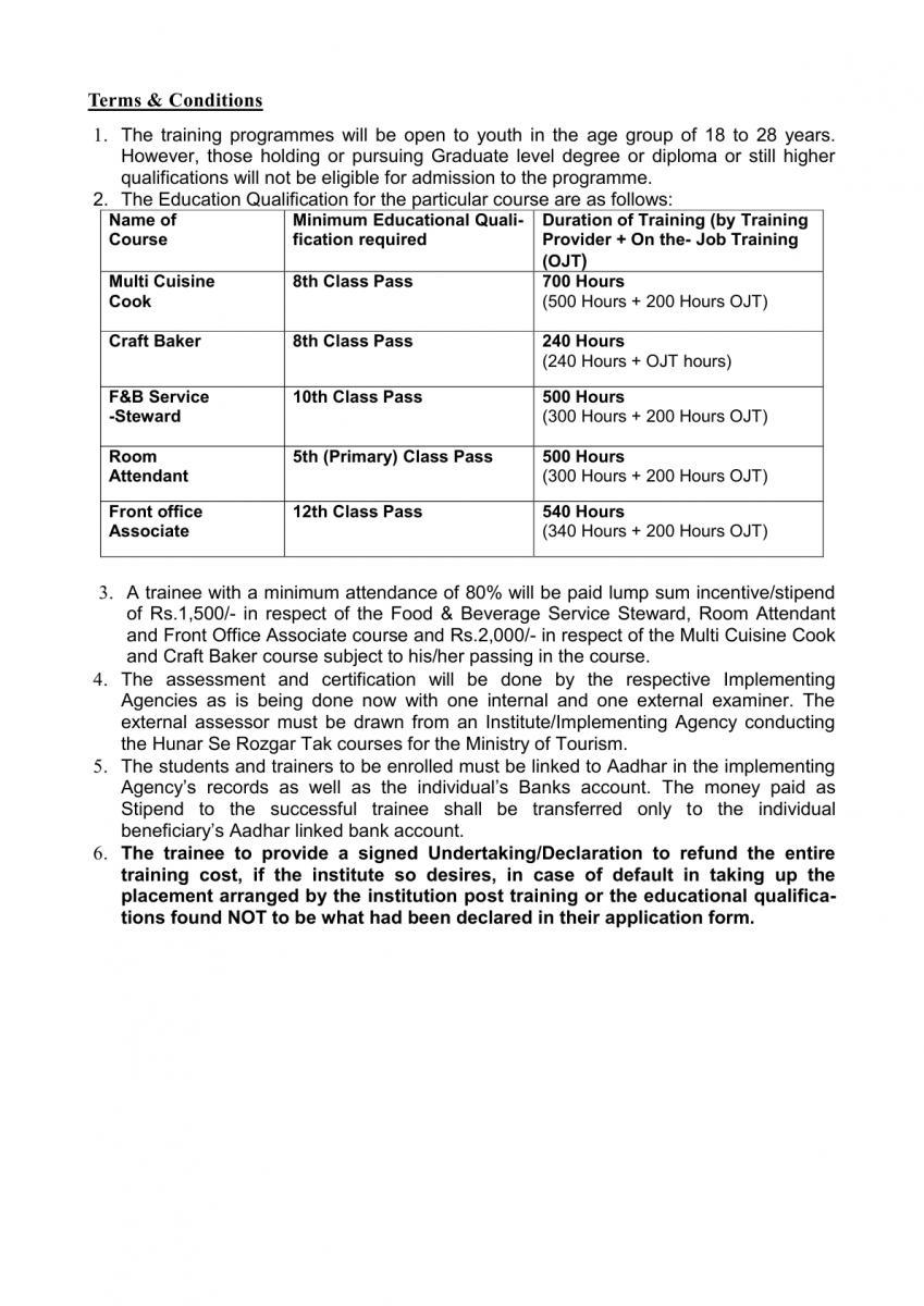Hunar Se Rozgar Training Programme | Official Website of